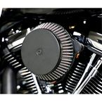 Black  Plain Cover Big Air Cleaner - LA-2392-03B