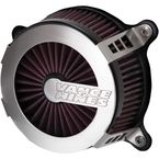 Brushed Aluminum VO2 Cage Fighter Air Intake Kit - 70087