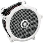 Chrome Super Gas Air Cleaner and Universal Faceplate Kit - 0206-2139-CH