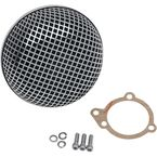 BOB Retro-Style Air Cleaner for S&S E and G Series Carburetors - 1010-0192