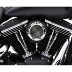 Chrome Ring w/Black Frame RPT Air Intake - 606-0100-05CB