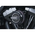 Satin Black Maverick Air Cleaner Trim - 9239
