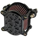Black Techno Omega Air Cleaner - 10-244-1