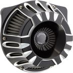 Black Inverted Series Deep Cut Air Cleaner - 18-917