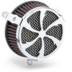 Chrome Swept-Style Air Cleaner Kit  - 606-101-01
