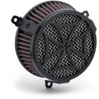 Black Cross-Style Air Cleaner Kit  - 606-101-02B