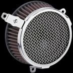 Chrome Plain-Style Air Cleaner Kit  - 606-101-03