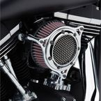 Chrome/Chrome Air Cleaner  - 606-101-05