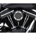 Chrome/Black RPT Air Cleaner  - 606-101-05CB