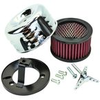 Chrome Louvered Air Cleaner for S&S - 109-0116