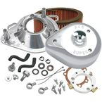 Chrome Teardrop Air Cleaner Kit - 170-0303B