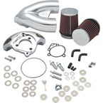Chrome Single Bore Tuned Induction Kit - 170-0308B