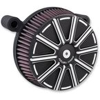 Black Stage 1 Billet Sucker 10-Gauge Air Cleaner Assembly - 18-315