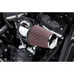 Chrome High Performance Cone Air Intake Kit - 606-0100-06