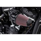 Black High Performance Cone Air Intake Kit - 606-0102-06B