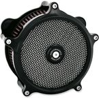 Chrome Super Gas Air Cleaner - 0206-2129-B