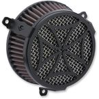 Black Cross Air Cleaner Kit - 606-0104-02B