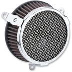 Chrome Plain Air Cleaner Kit - 606-0104-03