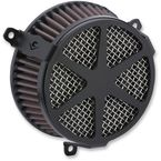 Black Spoke Air Cleaner Kit - 606-0104-04B