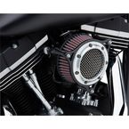 Chrome Ring w/Black Frame RPT Air Intake Kit  - 606-0104-05C