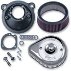 Chrome Mini Teardrop Stealth Air Cleaner Kit - 170-0439