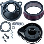 Gloss Black Mini Teardrop Stealth Air Cleaner Kit - 170-0440