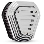 Chrome Slotted Hex Air Cleaner - B09-0011C