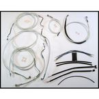 Sterling Chromite II Designer Series Handlebar Installation Kit for use w/18 in.-20 in. Ape Hangers - 387553