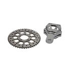 Rear 4 Piston Caliper and 10 in. Disc Sprocket Kit - 23-0897