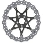 Black Front 14 in. Procross Two-Piece Floating Brake Rotor - 33-10101-203