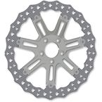 Chrome Front 14 in. 7 Valve Two-Piece Floating Brake Rotor - 33-10302-203
