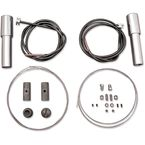 Cable Kit for Throttle & Spark Controls for H-D EL, FL, UL and WL Models - 36-0498