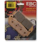 Double H Sintered Metal Brake Pads - FA672HH