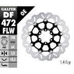 Standard Floating Wave Front Brake Rotor - DF724FLW-I