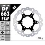 Front Floating Wave Rotor - DF663FLW
