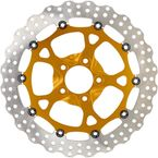 Gold Ops Two-Piece Front Dominator Brake Rotor - 0133-3059S-G