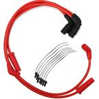 Red Custom Plug Wire Set  - 171116-R