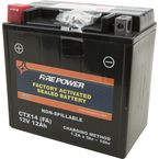 Sealed Factory Activated Battery - CTX14-BS(FA)
