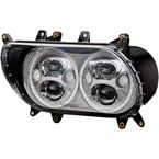 Chrome 5.75 in.  TruBeam Headlight - CDTB-RG-15-C