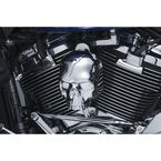 Chrome Skull Horn Cover - 5730
