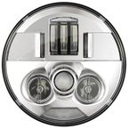 Chrome 7 in. ProBeam LED Headlamp - PB-7-IND-C