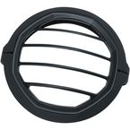 Satin Black 5 3/4 in. Dillinger Headlight Trim Ring - 6688