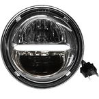 Chrome 5 3/4 in. Classic Headlight w/Daytime Running Lights - HD5CLC