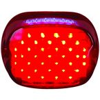 Red Slantback LED Taillight - LLC-STL-R