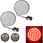 Red Rear Bullet Style 1156 LED Turn Signals - HW307003