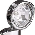 3 1/2 in. Visored Driving Light - 16-35A