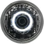 Chrome Projector Halo Headlight - T70800E