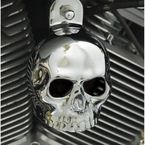 Chrome Standard Skull Horn Cover - SKU-CB2-2