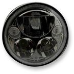 Black 5.75 in. Round Headlamp - CDTB-575-B