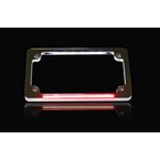 Chrome Dual LED License Plate Frame - TF02-C